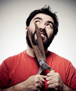 life4beard.ru как постричь бороду мужчина с бородой ножницами
