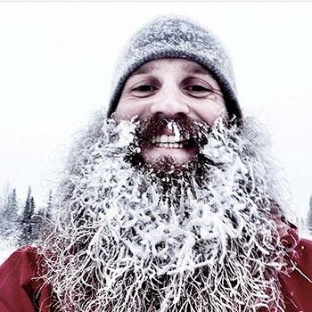 snow-beard-уход-за-бородой-зимой борода в снегу life4beard.ru