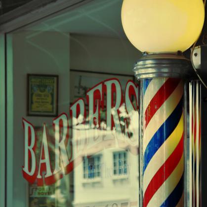 барбершоп барберский столб жезл барберская лампа