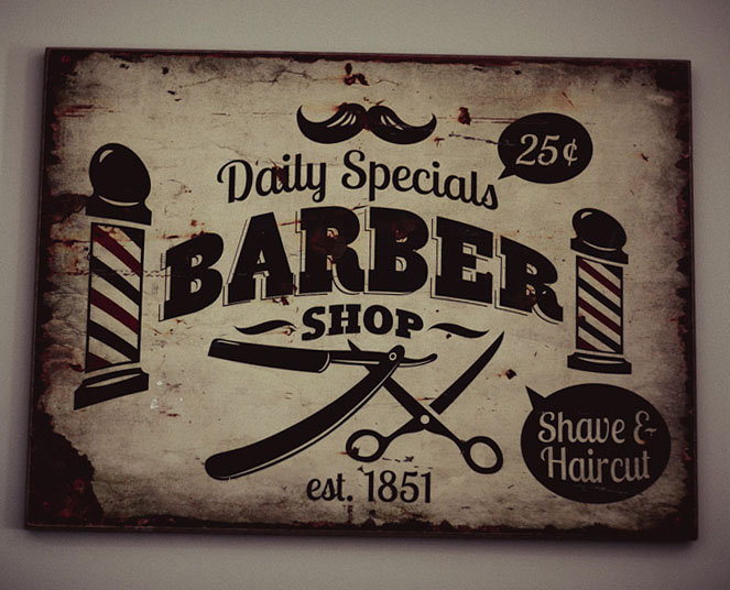 барбер барбершоп табличка вывеска парикмахерская цирюльня цирюльник