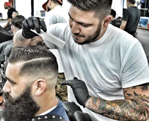 life4beard.ru клевая стрижка борода усы барбер барбершоп