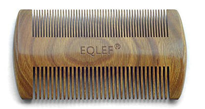 eqlef гребенка для бороды и усов из сандалового дерева с запахом life4beard.ru