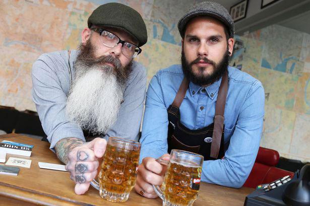 барбершоп барбер пиво борода life4beard.ru
