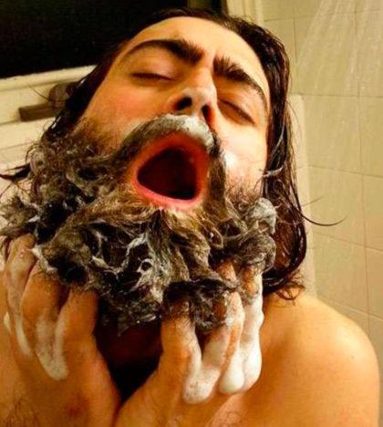 www.life4beard.ru уход за бородой мытье бороды шампунь кондиционер душ