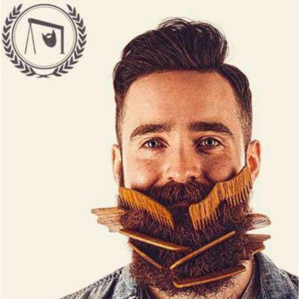 www.life4beard.ru уход за бородой щетка для бороды гребенка расчесывать бороду массаж бороды
