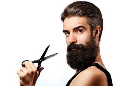 www.life4beard.ru уход за бородой стрижка бороды ножницами гребенка щетка расческа усов бакенбард бородач с ножницами