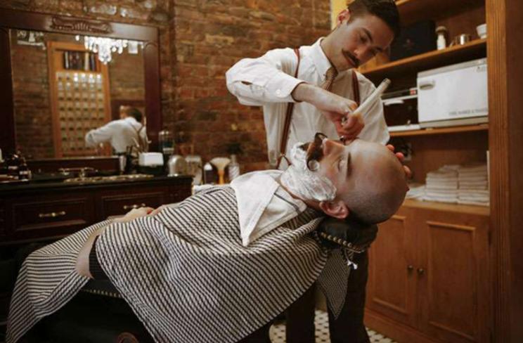 life4beard.ru барбершоп барбер бритье опасная бритва усы