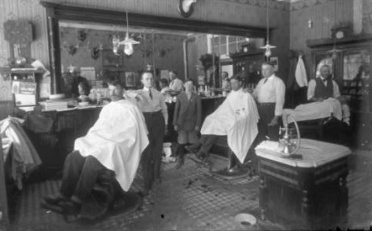 life4beard.ru старый old barbershop barber парикмахерская барбершоп барбер бритье опасная бритва усы